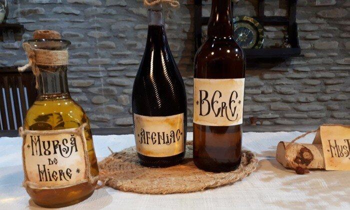 băuturi tradiționale românești - mursa - bere - mustareata