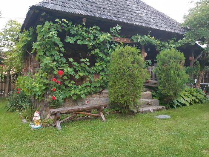 casa de lemn - pesniune