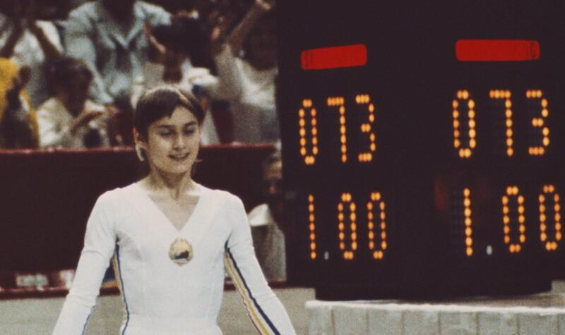 Nadia Comaneci - Montreal 1976