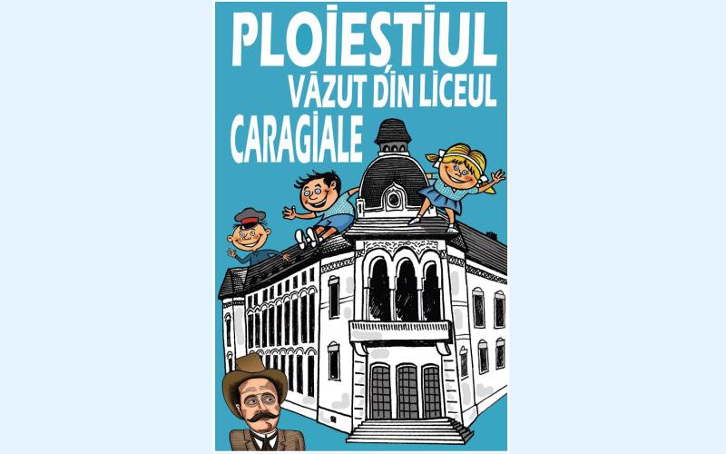Ploiești -ul vazut din liceul Caragiale, cartea promotiei 1966 - 2