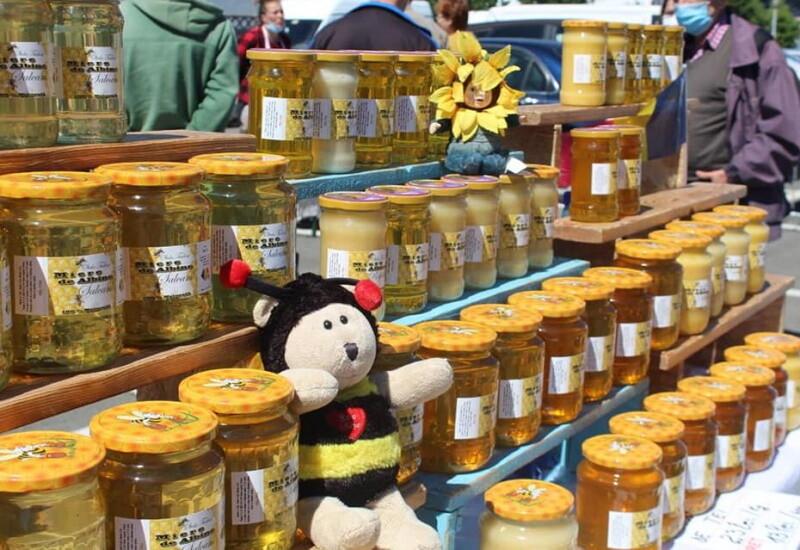 miere si produse apicole - piata volanta