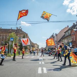 Cetatea Sighișoara la festival